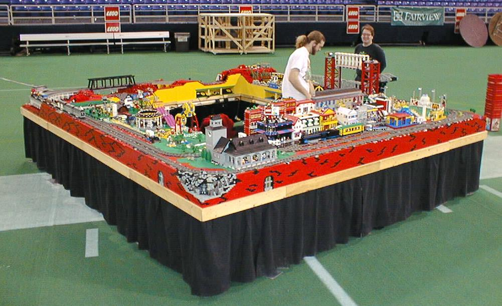 Greater Midwest Lego Train Club Pictures